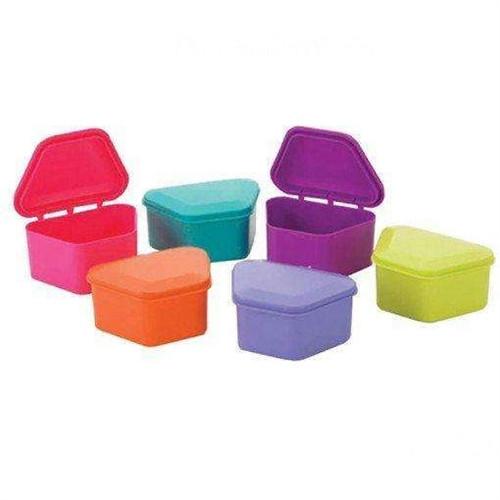 Denture Bath Assorted Colors 12/pkg