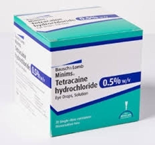 Minims Tetracaine Eye Drops 0.5% 0.5ml box/20