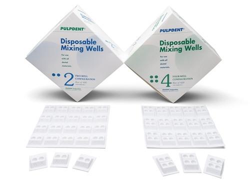 Pulpdent Disposable Mixing Wells 2 wells 480/box