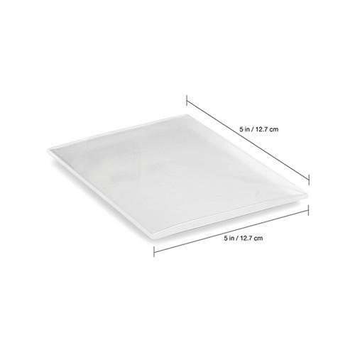 "Keystone Soft EVA Material 5"" x 5"" .040 (1mm) Clear Laminate 25/box"