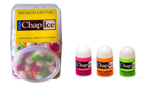 Chap Ice Lip Balm Assorted Fruits 100/pkg
