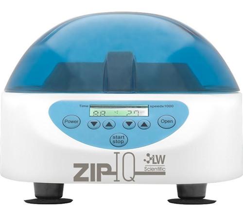 ZIP IQ TT Test Tube Centrifuge Digital, 6-place angled test tube rotor (0.5ml-15ml), 5,000 rpm, 0-lock, 100-240 volt
