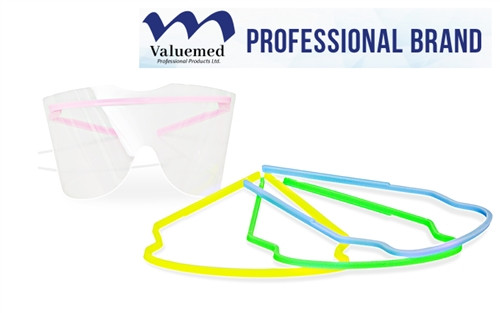 Valuemed Professional Disposable Eyeshield Pack (5 Frames & 25 Lenses)