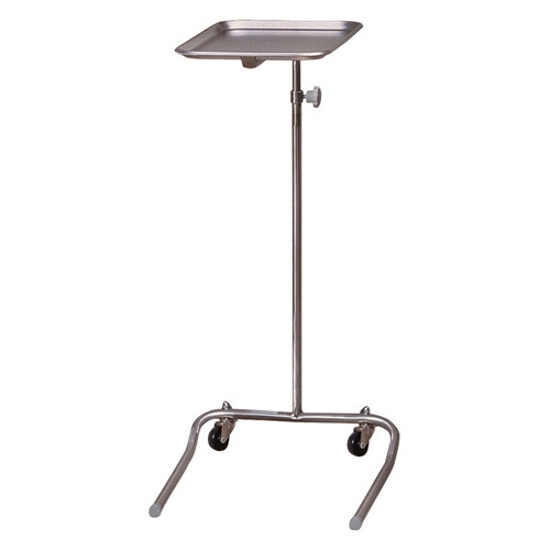 Brewer Stainless Steel Base Mayo Instrument Stand