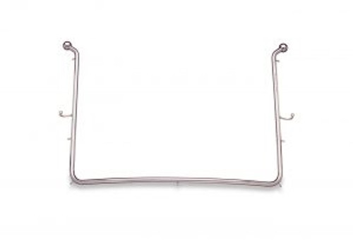 """Young Rubber Dam Frame - Pedo Contoured - 7 Tines with Hooks and Balls (5.0625"""" X 4.125"""")"""