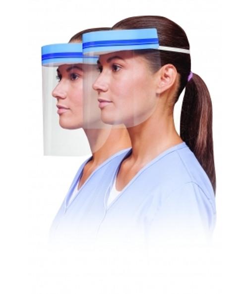 Crosstex Face Shield with Foam Headband 3/4 Length 24/Box