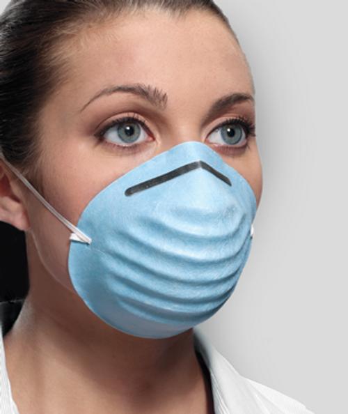 Crosstex Surgical Cone Masks Blue 50/box