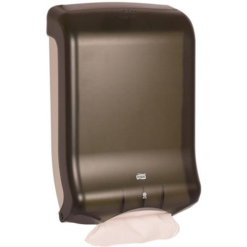 Tork Multifold and C-Fold Hand Towel Dispenser, Smoke