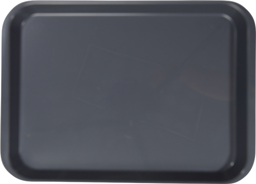 """B-Lok Instrument Flat Tray, Plastic, 13-3/8"""" x 9-5/8"""" x 7/8"""" - Grey"""