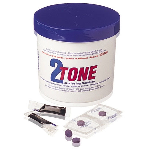 Young 2-Tone Disclosing Solution Units 200/box