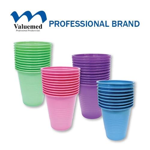 Valuemed Plastic Cups 5oz  1000/case  Blue