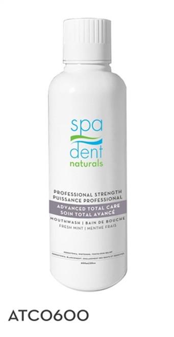 Spadent Advanced Total Dental Care Hydrogen Peroxide Mouthwash Rinse 600ml