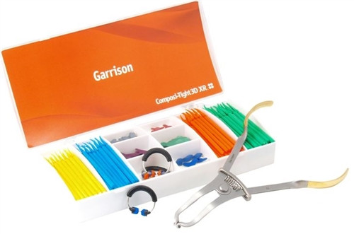 Garrison Composi-Tight 3D XR Kit with 3D Fusion Wedges & 3D Fusion Bands with Instruments