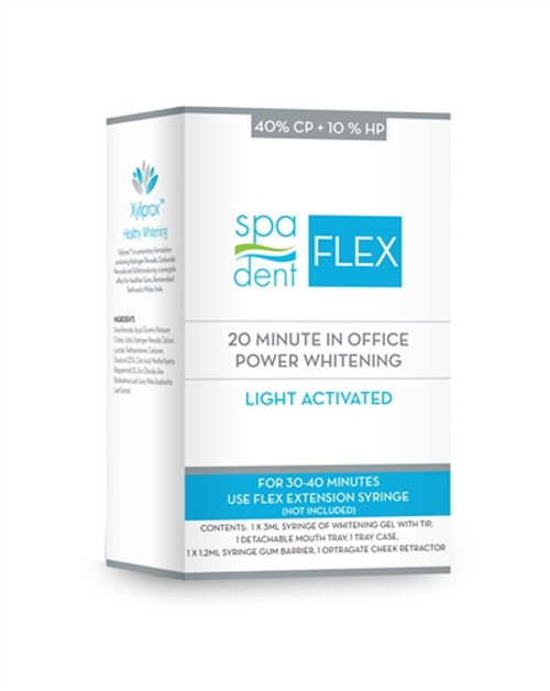 SpaDent Naturals Flex In Office Whitening + Home Care, Syringe Kit