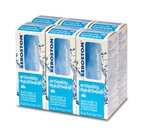 Xerostom Drymouth Anticavity Mouthwash (6 bottles)