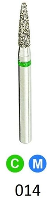 1Diamond Sterile Diamond Burs Flame 861-014