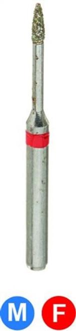 1Diamond Sterile Diamond Burs Flame 889-009