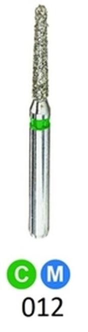 1Diamond Sterile Diamond Burs Modified Chamfer 878K-012