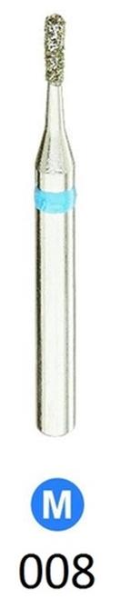 1Diamond Sterile Diamond Burs Pear 830-008 Medium Grit 25/box