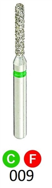 1Diamond Sterile Diamond Burs Round End Cylinder 881-009