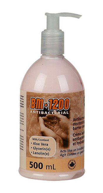 BM-1200 Antibacterial Barrier Cream, 500ml w/Pump