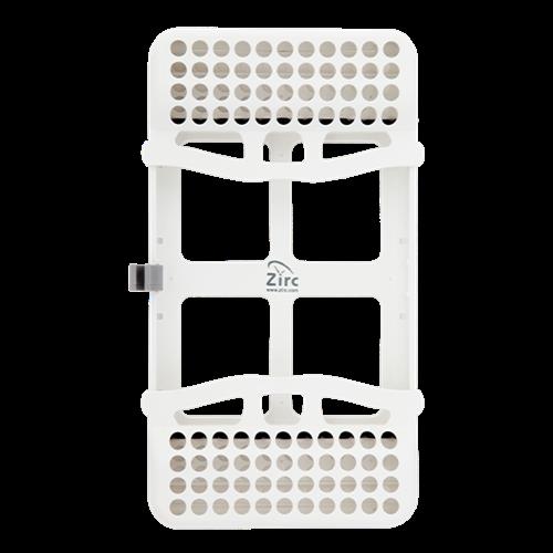 Zirc E-Z Jett Cassette Slim 8-Place White