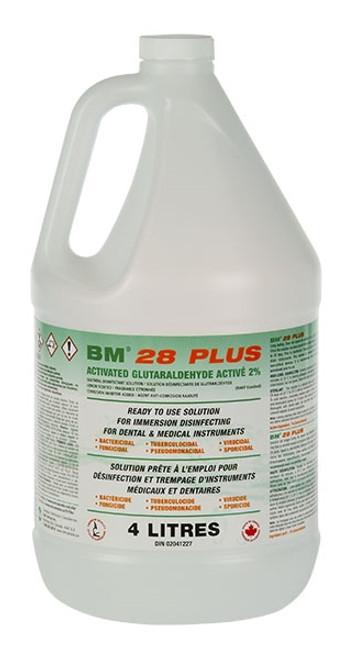 BM-28 Plus 2% Glutaraldehyde 4L