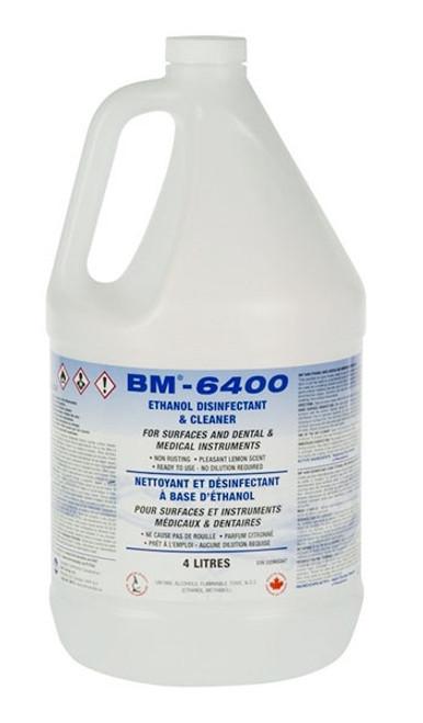 BM 6400 Ethanol Disinfectant 4L