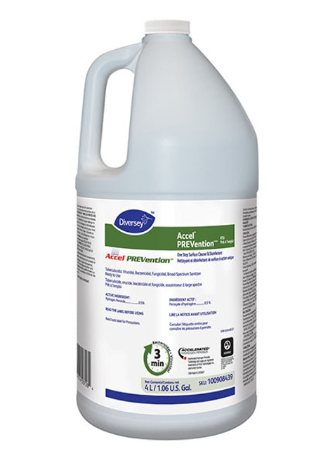 Diversey Accel Prevention Ready To Use Surface Disinfectant 4L
