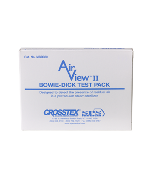Crosstex SPS AirView II Bowie-Dick Test Pack 30/case