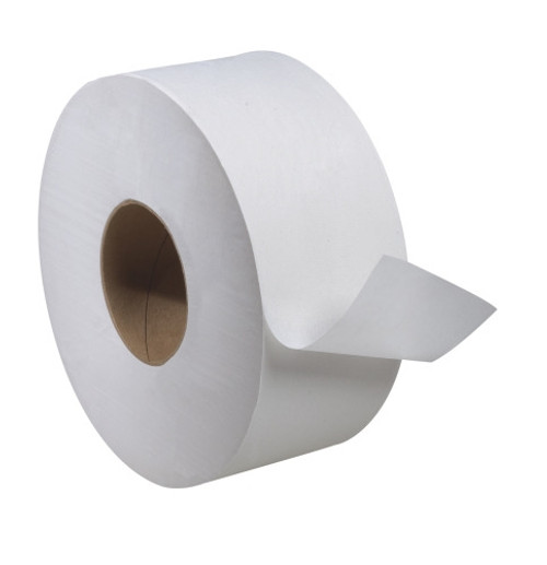 "Tork Universal Jumbo Bath Tissue Roll, 1-Ply, 8.8"" Dia. 2000', 12/case"