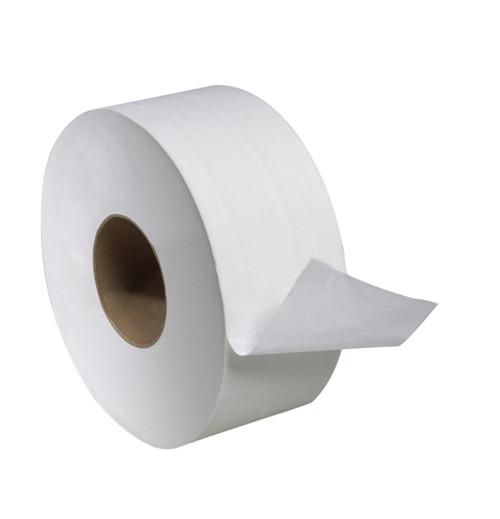 "Tork Universal Jumbo Bath Tissue Roll, 2-Ply, 8.8"" Dia. 1000' 12/case"