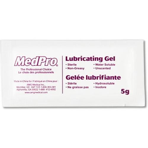 Lubricating Gel 5gram Packets 72/box