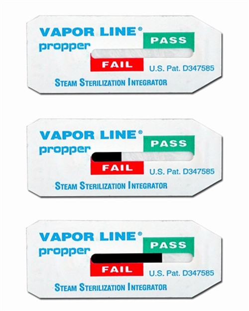 Vapor Line Steam Sterilization Integrators: Vapor Line Class 5 Integrator, 250/bag