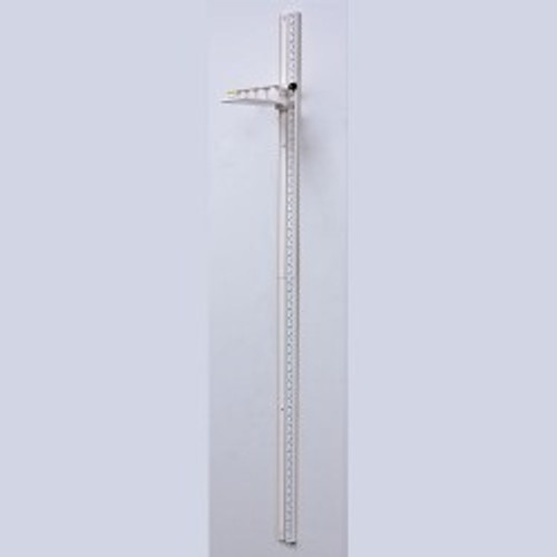 """Health O Meter Wall Mount Height Rod, 60 - 213cm (24"""" - 83"""")"""