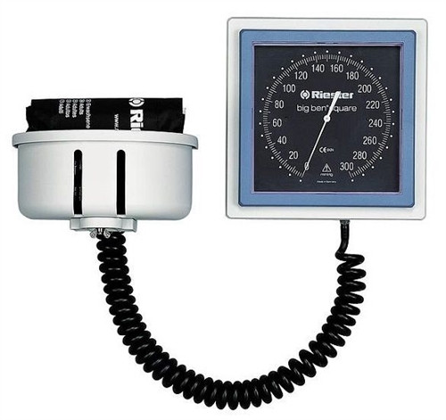 Riester Big Ben Wall Mount Aneroid with Basket & Adult Cuff