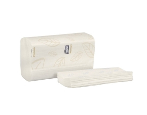 Tork Premium Soft Xpress Multifold Hand Towel, 2ply, White, 16pkgs/case