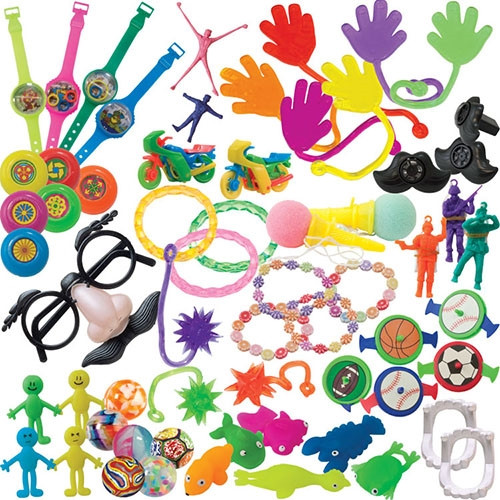 Assortment of 200 Deluxe Toys Refill