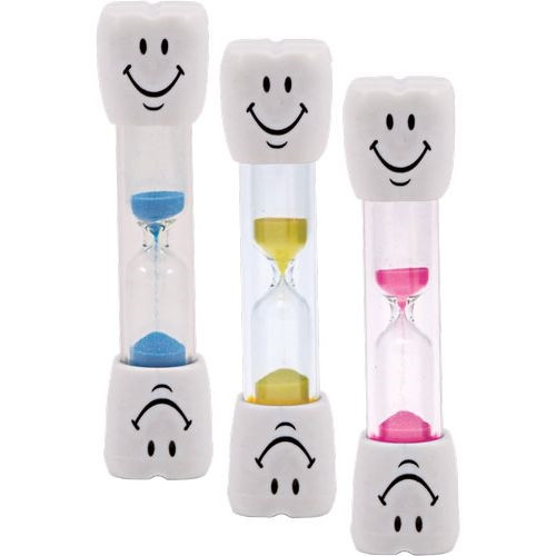 2 Minute White Tooth Sand Timer 40/box