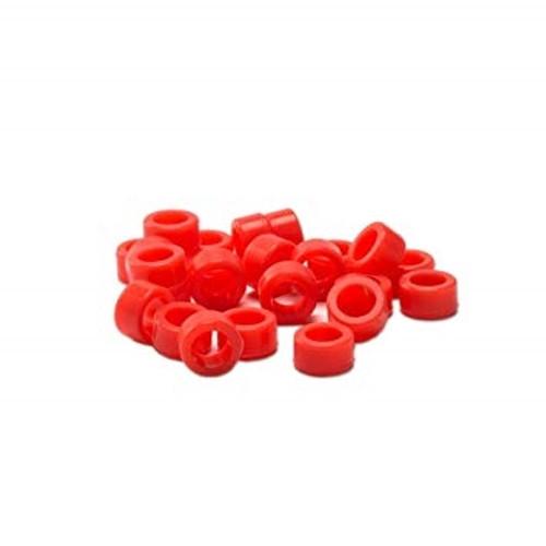 Plasdent Code Rings Small Red 60/box