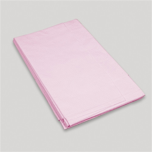 "Exam Drape Sheet Mauve 2ply Tissue 40"" x 48"" 100/case"