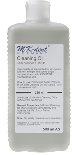 MK-dent Service and Cleaning Oil for W&H Assistina 500 ml