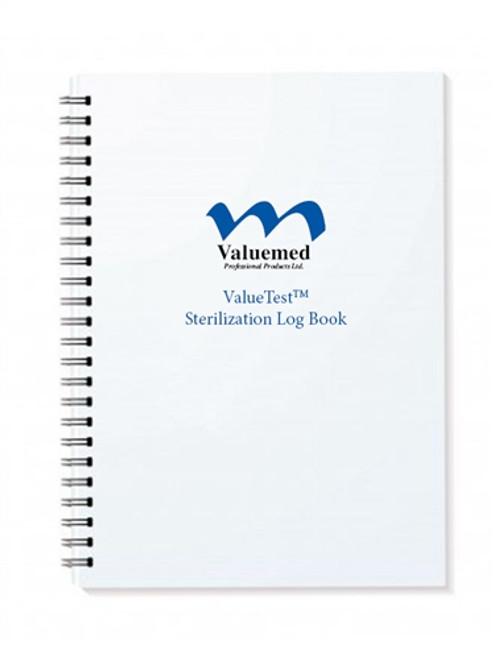 ValueTest Log Book For Sterilization Records