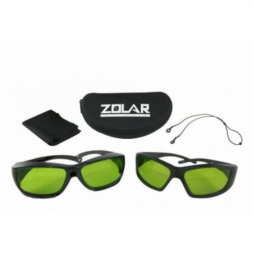 Zolar Laser Safety Glasses with Zolar Logo and Strap