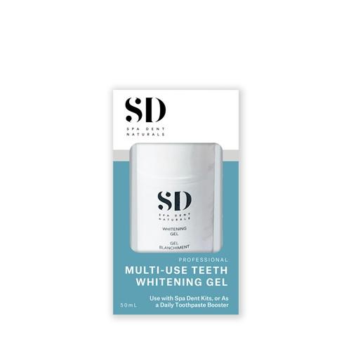 SpaDent Multi-Use Teeth Whitening Gel 50ml Pump Bottle