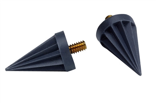 Young Pointed Polisher Screw Type Soft Ribbed 144/pkg
