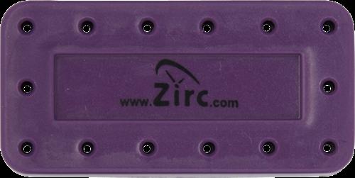 Zirc 14 Hole Magnetic Bur Blocks Plum