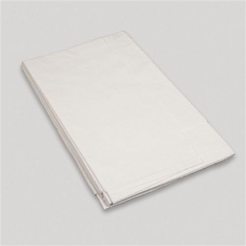 "Drape Sheet 40"" x 60""-White, TT 2-ply 100/case"