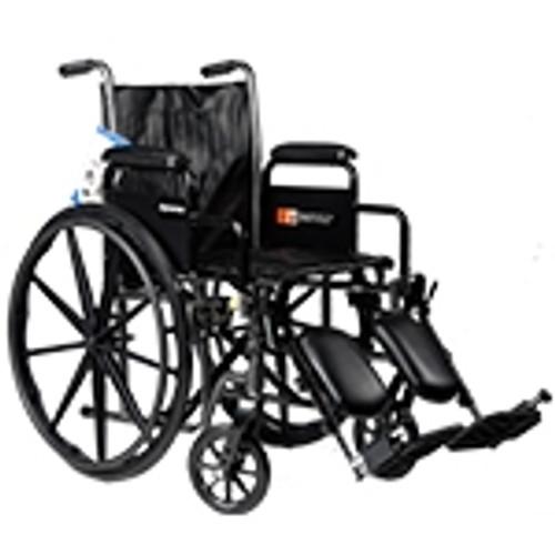 "Wheelchair 18"" x 16"" Seat with Detach Desk Arm, FR- 250 lb"
