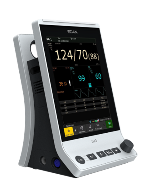 Edan iM3 Vital Signs Monitor with NIBP and SpO2